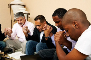 praying men